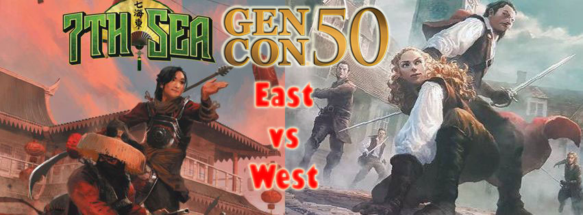 7th Sea East vs West (heroes from all over the world)