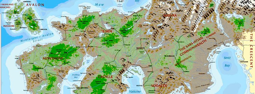 Theah and the kingdoms where it all started