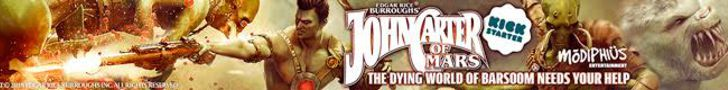 Support on Kickstarter: John Carter of Mars