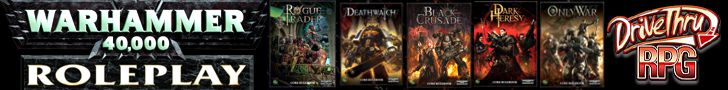 Purchase from DriveThruRPG: Warhammer 40K Rogue Trader