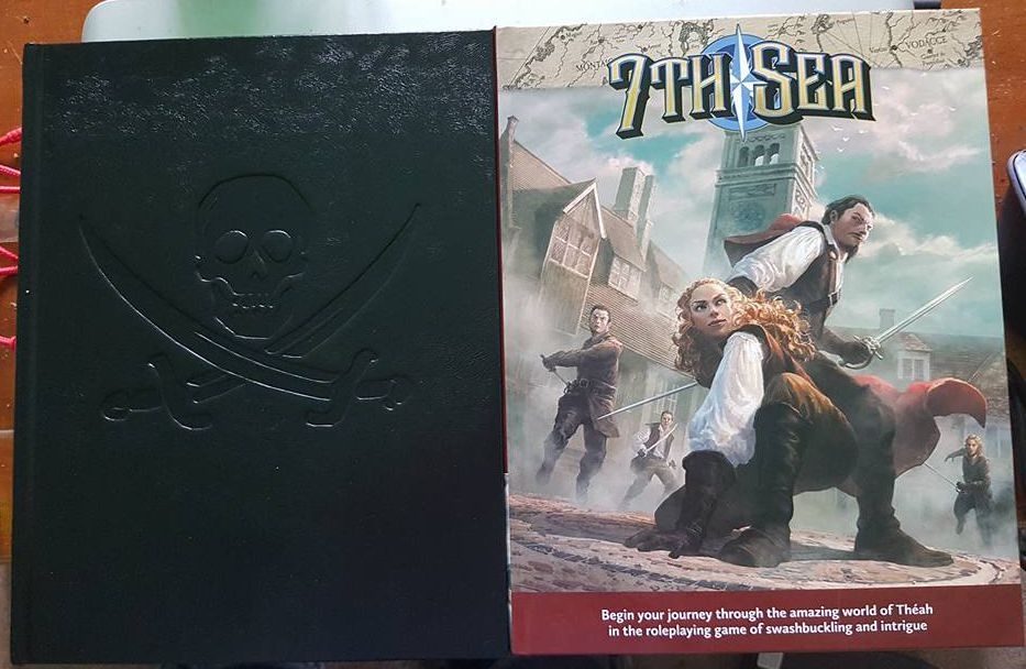 7th Sea Dread Pirate Edition (Front)