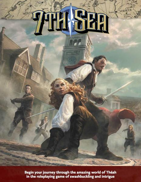 7th Sea: Second Edition Core Rulebook Cover
