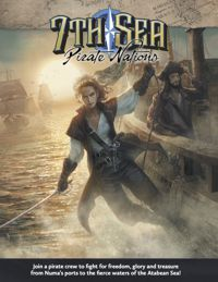 7th Sea: Second Edition Pirate Nations Cover