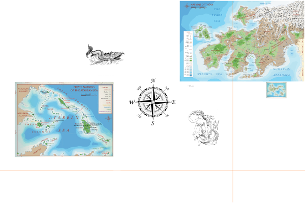 7th Sea World Map (there be monsters)